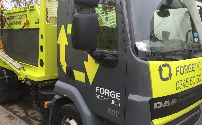 Hello and welcome to the brand new Forge Skip Hire website!