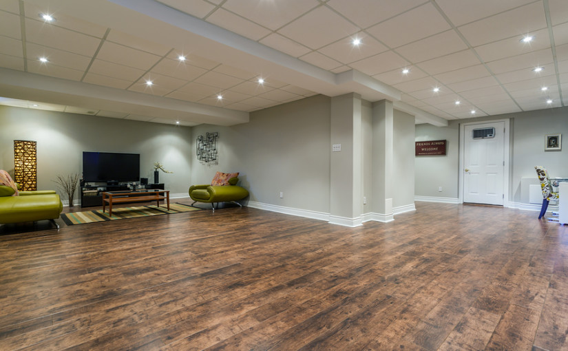 Top tips for renovating a basement