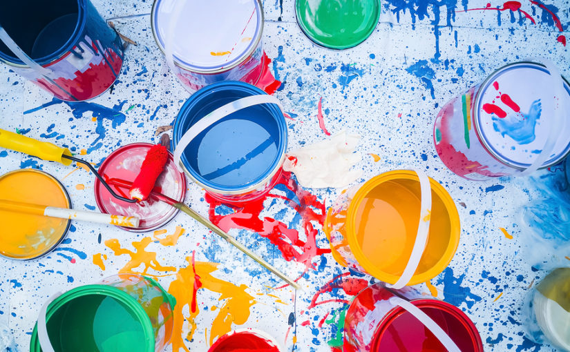 How do you properly dispose of paint?