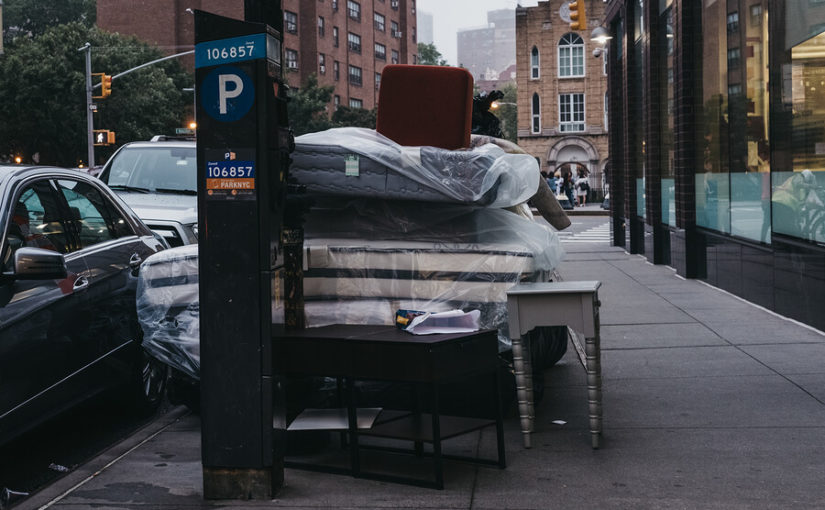 Can you put a mattress in a skip?