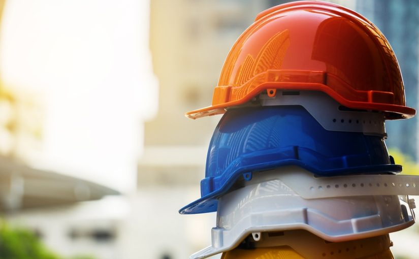 Health and Safety hats to illustrate duty of care.