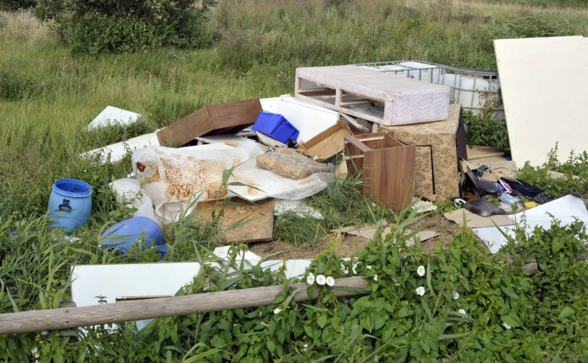 What to do if someone fly-tips on your land